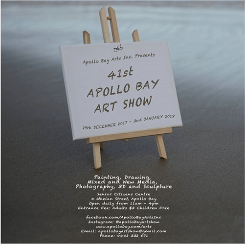 41st Apollo Bay Art Show Poster