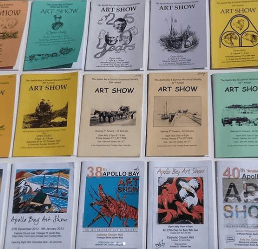 Apollo Bay Art Show Catalogue Collection